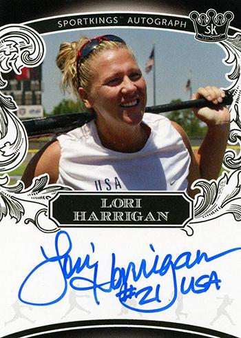 2018 Sportkings Volume 1 Autograph Lori Harrigan
