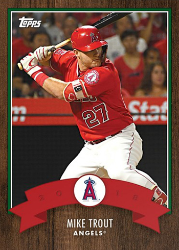 2018 Topps Advent 1 Mike Trout