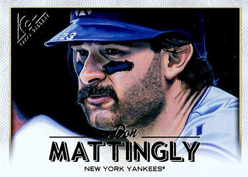2018 Topps Gallery Baseball Don Mattingly