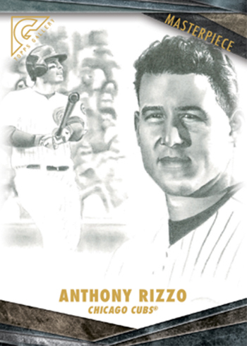 2018 Topps Gallery Baseball Masterpiece Anthony Rizzo