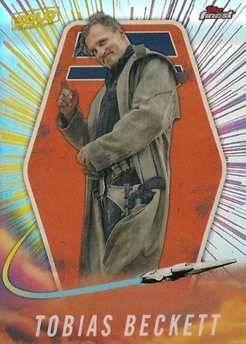 2018 Topps Star Wars Finest Solo