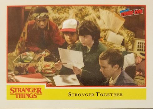 2018 Topps Stranger Things Promo Card NYCC-4
