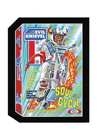 2018 Topps Wacky Packages Old School 7 Soul Cycle