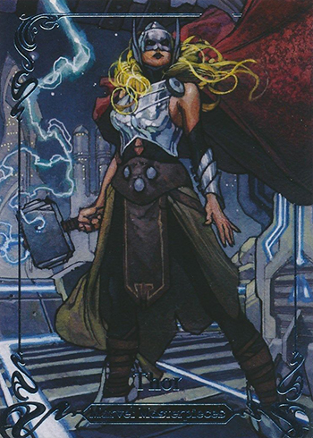 2018 Upper Deck Marvel Masterpieces 68 Thor 999