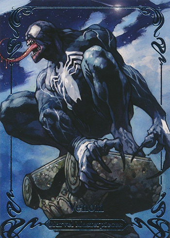 2018 Upper Deck Marvel Masterpieces 78 Venom 999