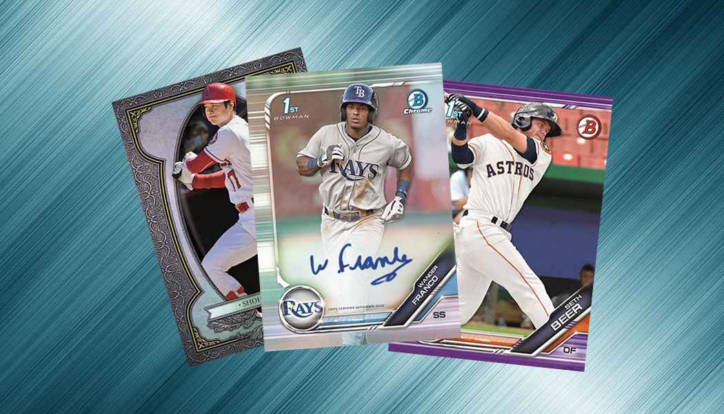 2019 Bowman Baseball Cards Checklist Team Set Lists Pack