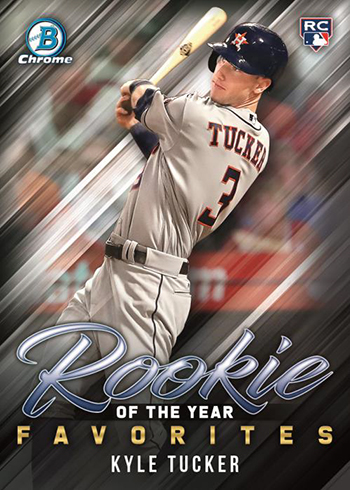 2019 Bowman Baseball Rookie of the Year Favorites