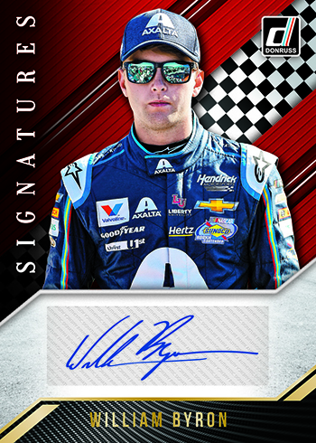 2019 Donruss Racing Signatures