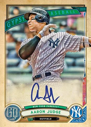 2019 Topps Gypsy Queen Baseball Autograph
