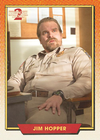 2019 Topps Stranger Things Series 2 Character Card