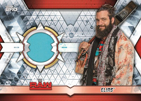 2019 Topps WWE Raw Shirt Relic