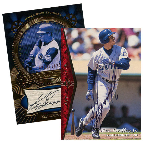 d27cdbe0de The other was a buyback of a his 1995 SP card. Both have Griffey's majestic  penmanship. I don't remember exactly what I paid, but it would have been  under ...