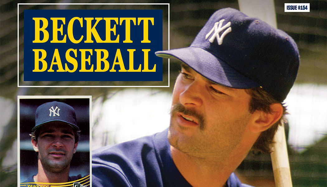 Current Baseball Beckett Price Guide Magazine January 2019