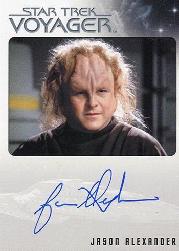 Star Trek Voyager Jason Alexander Autograph