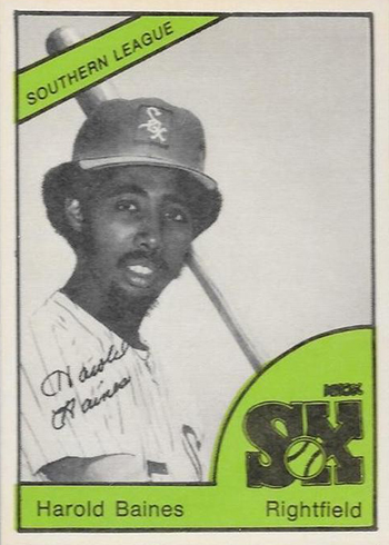 1978 Knoxville Knox Sox Harold Baines