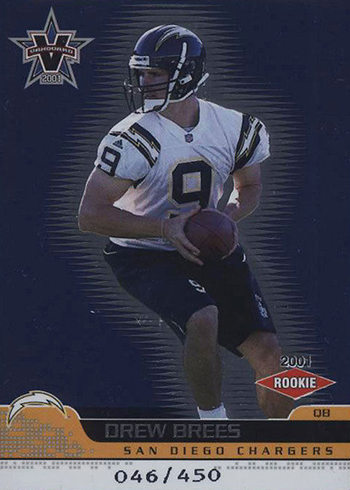 2001 Vanguard Drew Brees RC