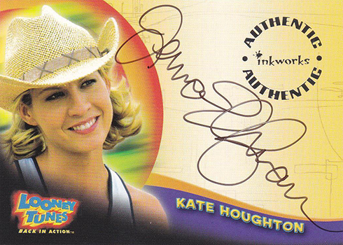 2003 Inkworks Looney Tunes Back in Action Autographs Jenna Elfman
