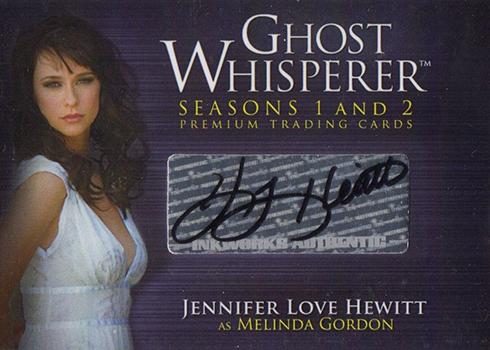2009 Breygent Ghost Whisperer Jennifer Love Hewitt Autograph