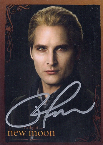 2009 NECA Twilight New Moon Peter Facinelli Autograph