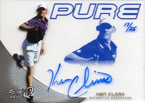 2014 Leaf Q Ken Climo Pure Autograph