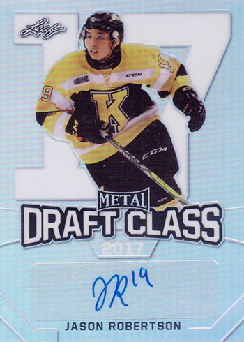 2016-17 Leaf Metal Draft Class Jason Robertson Autograph