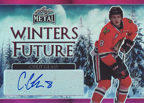 2016-17 Leaf Metal Winters Future Pink Cody Glass