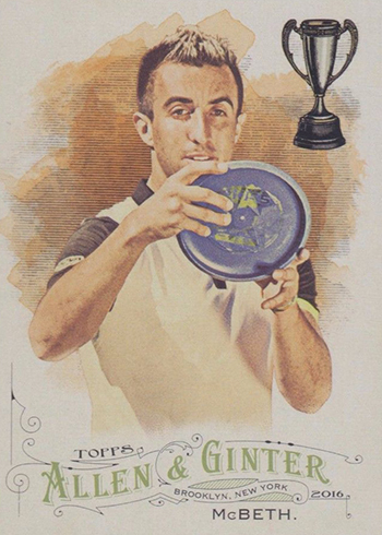 2016 Topps Allen and Ginter Paul McBeth