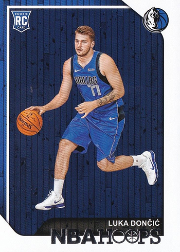 2018-19 Hoops Luca Doncic RC
