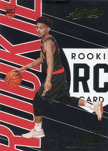 2018-19 Panini Absolute Basketball Trae Young RC