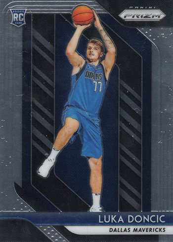 2018-19 Panini Prizm Luca Doncic Rookie Card