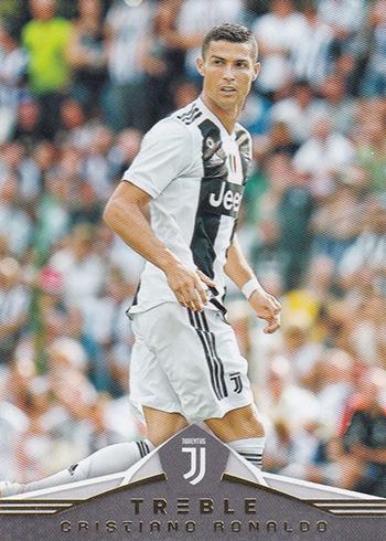2018-19 Panini Treble Soccer Cristiano Ronaldo
