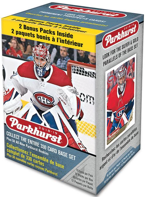 2018-19 Parkhurst Hockey Blaster Box