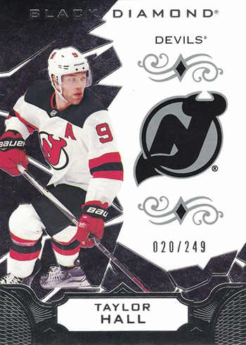 2018-19 Upper Deck Black Diamond Hockey Taylor Hall