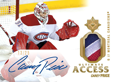 2018-19 Upper Deck Ultimate Collection Hockey Ultimate Access