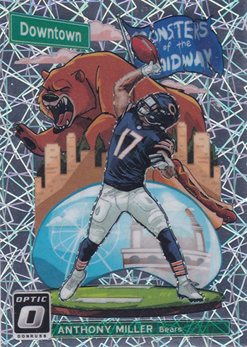 2018 Donruss Optic Football Downtown Anthony Miller