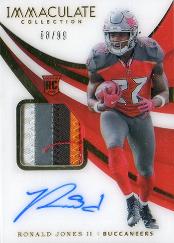 Ronald Jones Ii Offers Up Some Football Card Insight What He Collects