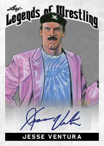 2018 Leaf Legends of Wrestling Jesse Ventura