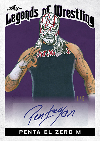 2018 Leaf Legends of Wrestling Penta El Zero M