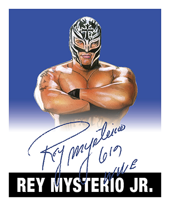 2018 Leaf Legends of Wrestling Rey Mysterio Jr