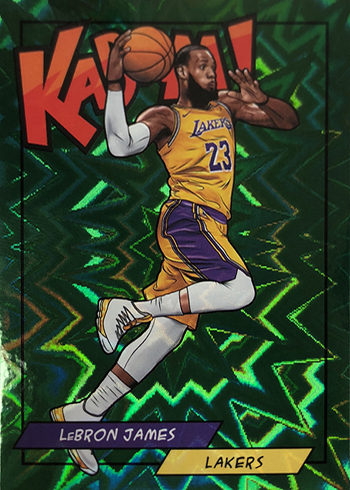 2018 Panini Kaboom Green LeBron James
