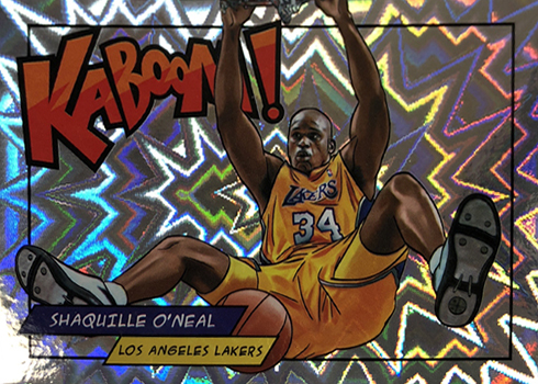2018 Panini Kaboom Shaquille ONeal