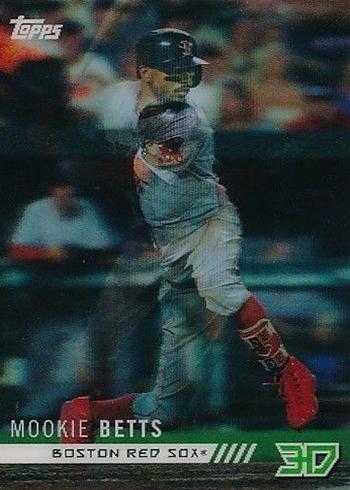 2018 Topps 3D On Demand Baseball Motion Mookie Betts