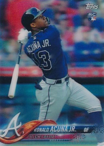 2018 Topps 3D On Demand Baseball Ronald Acuna Jr