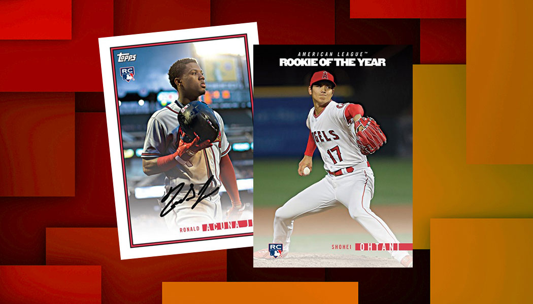 2018 Topps On Demand Rookie Year In Review Baseball Checklist