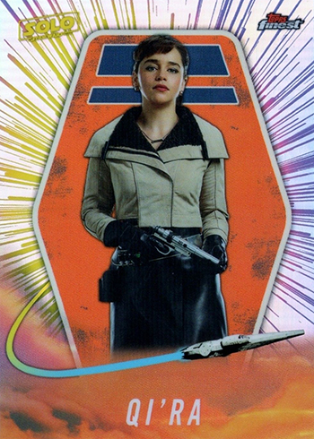 2018 Topps Star Wars Finest Solo QiRa