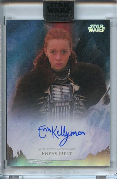 2018 Topps Star Wars Stellar Signatures Erin Kellyman