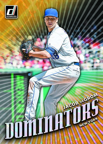 2019 Donruss Baseball Dominators
