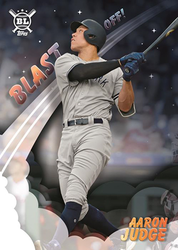 2019 Topps Big League Baseball Blast Off