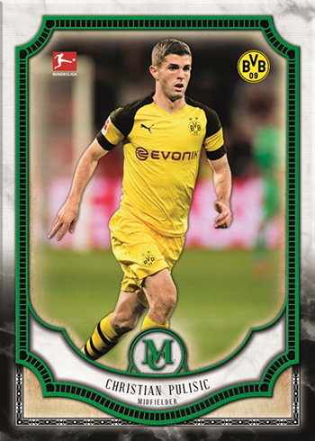 2019 Topps Bundesliga Museum Collection Base Emerald