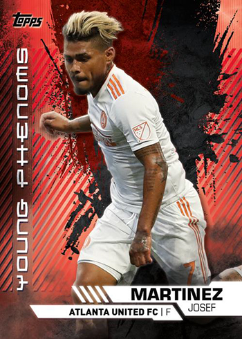 2019 Topps MLS Young Phenoms Red